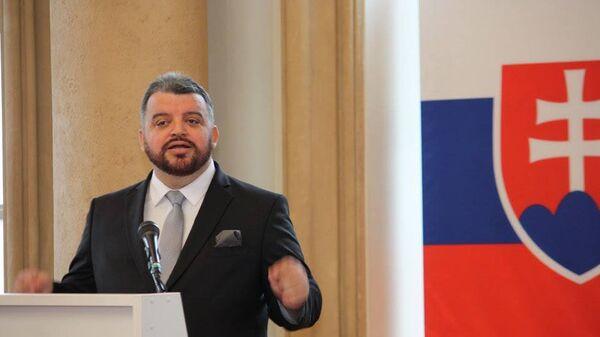 Кандидат в президенты Словакии Эдуард Хмелар  - Sputnik Česká republika