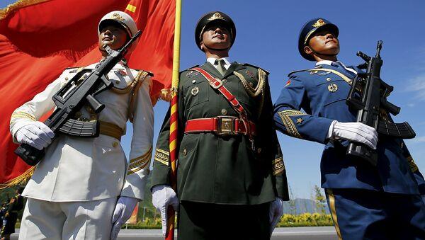Zkouška přehlídky vitězství v Pekingu - Sputnik Česká republika
