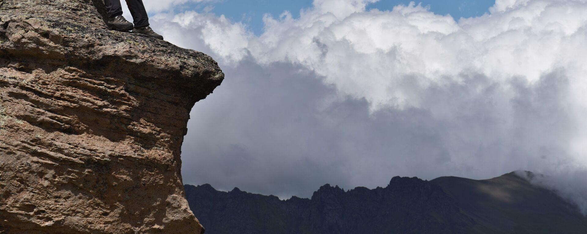 Obdivuhodná příroda. Zážitkové lezení na nejvyšší horu Kavkazu a Ruska - Elbrus - Sputnik Česká republika, 1920, 23.07.2019