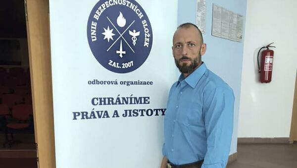 Předseda Unii bezpečnostních složek Zdeněk Drexler - Sputnik Česká republika