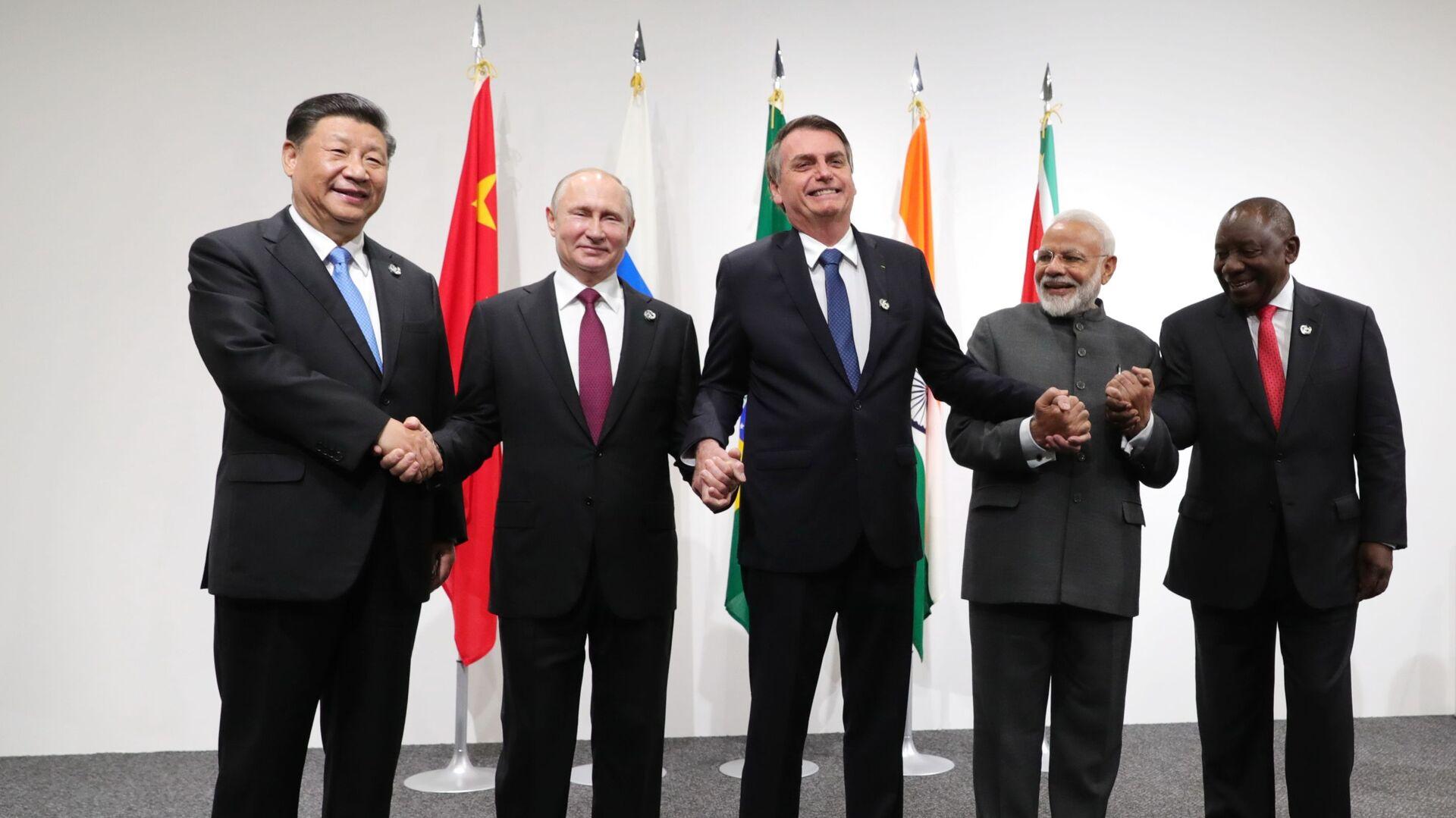 Lideři BRICS - Sputnik Česká republika, 1920, 09.09.2021