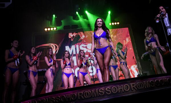 Finalistky každoroční ruské soutěže krásy Miss MAXIM 2019. - Sputnik Česká republika