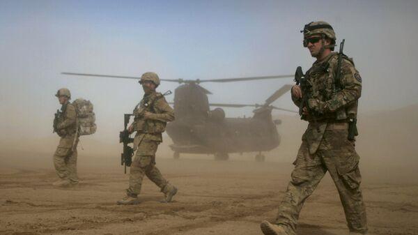 Američtí vojáci v afghánském Shindandu - Sputnik Česká republika
