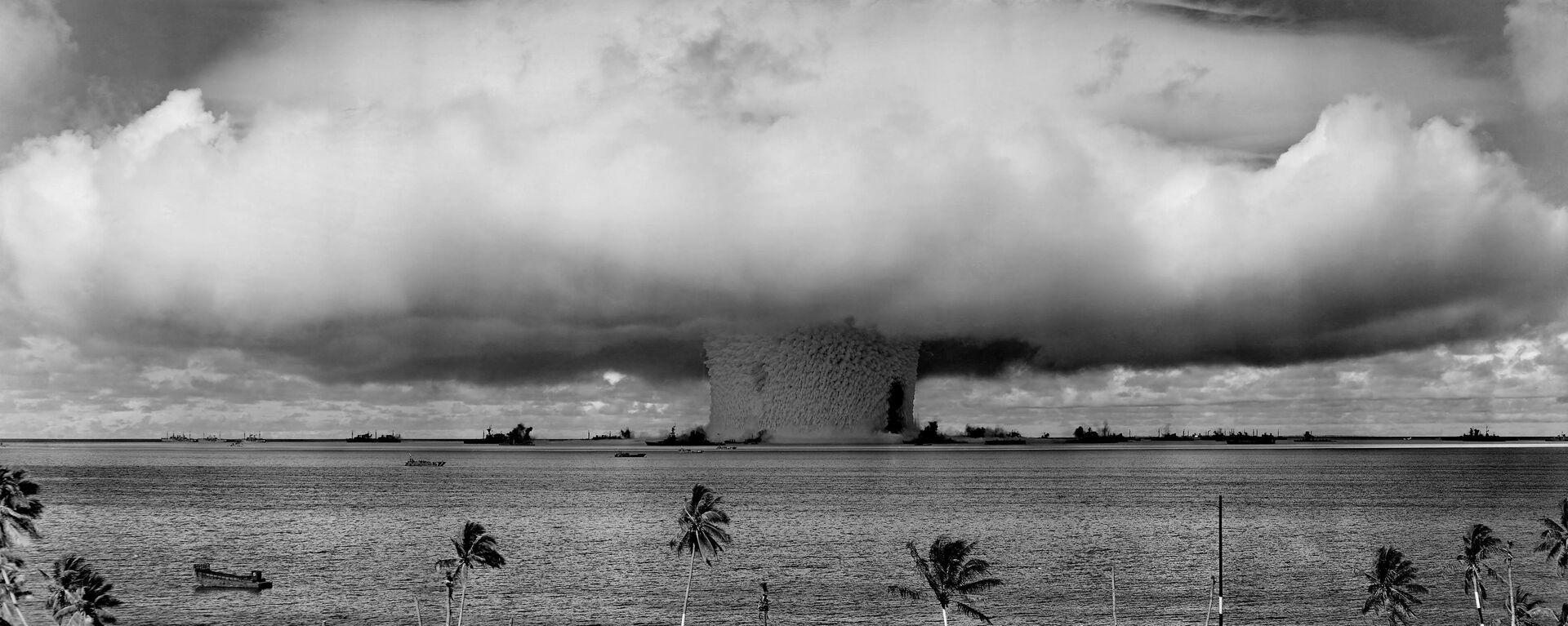 Jaderné zkoušky na atolu Bikini - Sputnik Česká republika, 1920, 24.09.2021