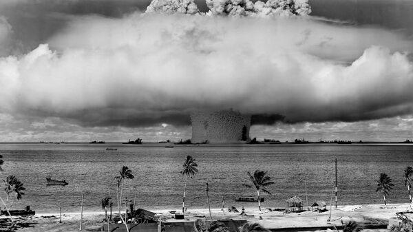 Jaderné zkoušky na atolu Bikini - Sputnik Česká republika
