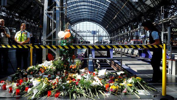 Hlavní nádraží ve Frankfurtu nad Mohanem - Sputnik Česká republika