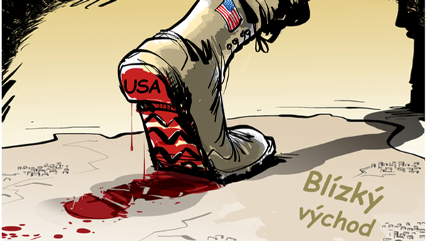 USA na Blízkém východě - Sputnik Česká republika