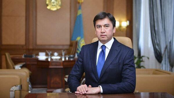 Starosta kazachstánského města Šymkent Gabidulla Abdrachimov  - Sputnik Česká republika