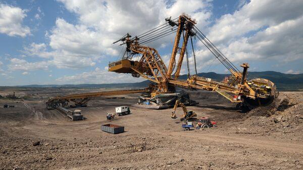 Uhelný důl v České republice - Sputnik Česká republika