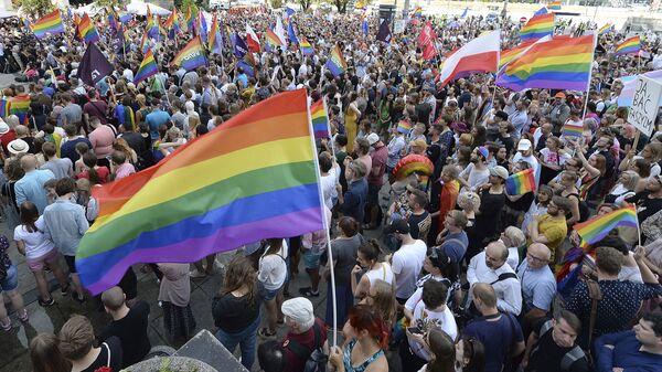 LGBT aktivisté - Sputnik Česká republika