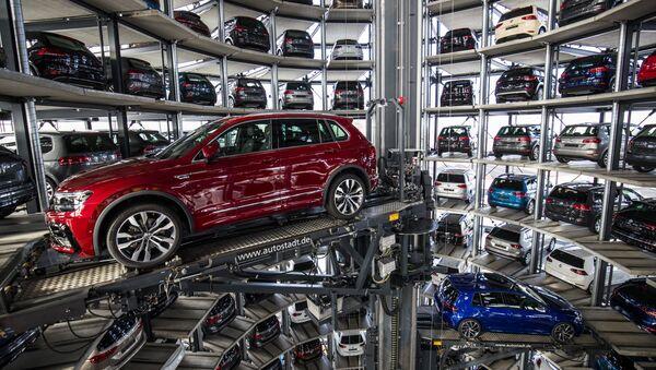 Závod Volkswagen v Německu - Sputnik Česká republika