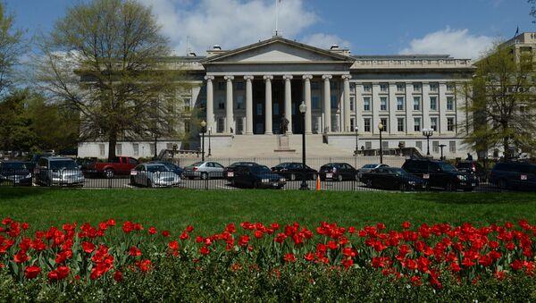 Budova amerického ministerstva financí - Sputnik Česká republika