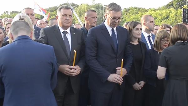 Video: Nezahojitelná rána Srbska - Operace Bouře. Akce za účasti vysocepostavených vládních úředníků ze Srbska   - Sputnik Česká republika