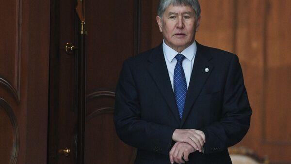 Bývalý prezident Kyrgyzstánu Almazbek Atambajev - Sputnik Česká republika