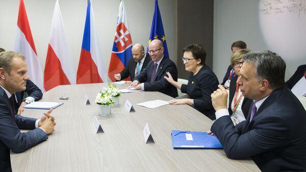 Schůzka Visegrádské čtyřky archivní foto - Sputnik Česká republika