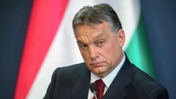 Premiér Maďarska Viktor Orbán - Sputnik Česká republika