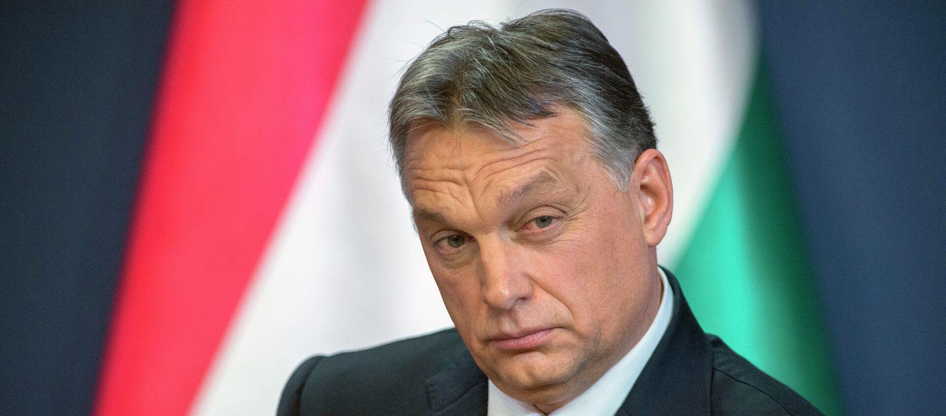 Premiér Maďarska Viktor Orbán - Sputnik Česká republika, 1920, 05.03.2021