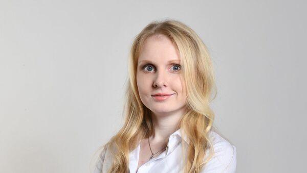 Politička a řidička kamionu Anna Vaculíková - Sputnik Česká republika