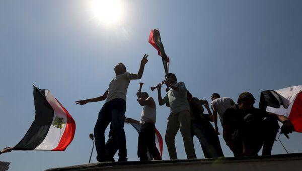 Egypťané slaví otevření Suezského průplavu - Sputnik Česká republika