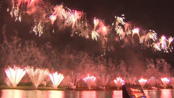 Největší mezinárodní festival ohňostrojů se konal o víkendu. Tým ze Slovenska letos nevyhrál - Sputnik Česká republika