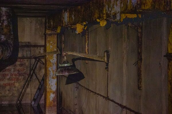 V objektu Dvina se nacházely čtyři raketové šachty. Každá šachta vedla asi asi 30 metrů do země a byla široká sedm metrů. - Sputnik Česká republika