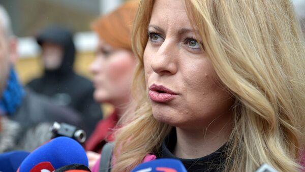 Zuzana Čaputová  - Sputnik Česká republika