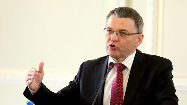 Exministr zahraničních věcí Sobotkovy vlády Lubomír Zaorálek - Sputnik Česká republika