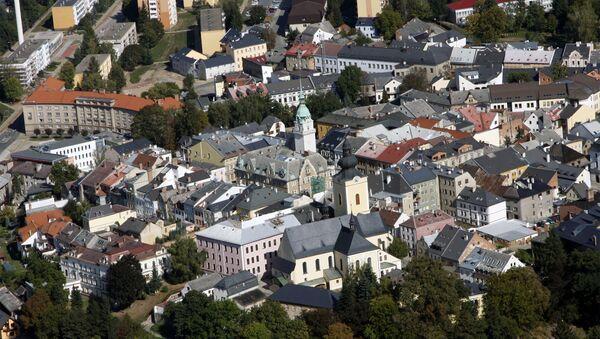 Letecký pohled na české město Šumperk - Sputnik Česká republika