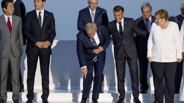 Společné focení lídrů skupiny G7 - Sputnik Česká republika