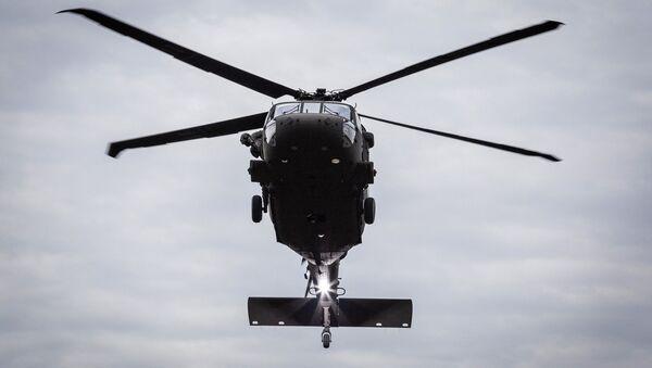 Americký vrtulník UH-60M Black Hawk. Ilustrační foto - Sputnik Česká republika