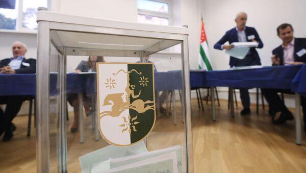 Prezidentské volby. Abcházie - Sputnik Česká republika