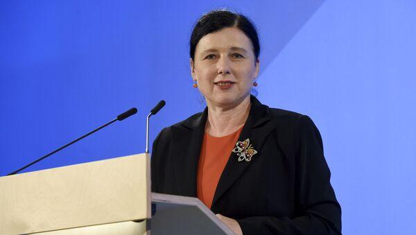 Česká politička, právnička a eurokomisařka Věra Jourová - Sputnik Česká republika