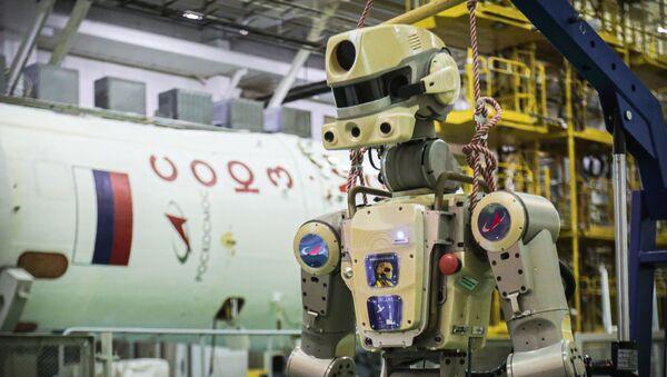 Robot Fjodor - Sputnik Česká republika