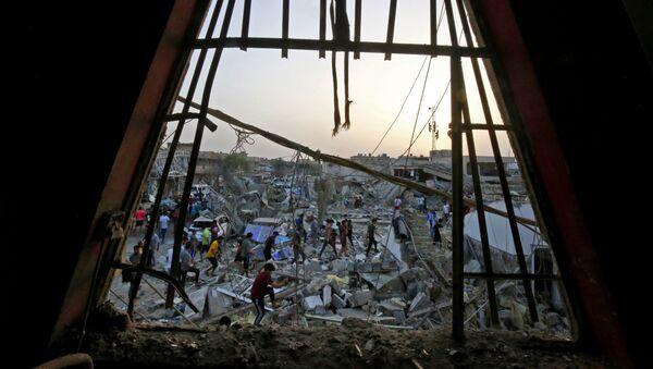 Následky výbuchu v iráckém Bagdádu. Ilustrační foto - Sputnik Česká republika