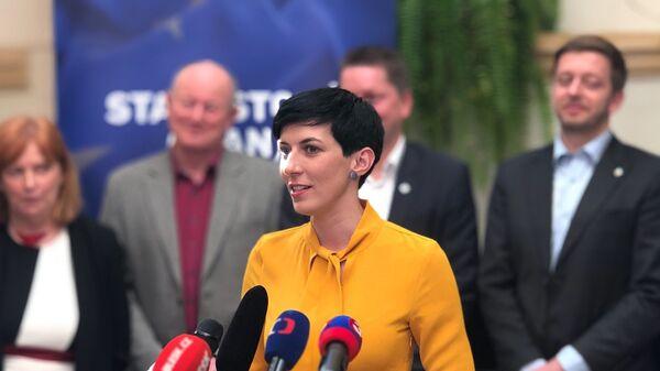 Předsedkyně politické strany TOP 09 Markéta Pekarová Adamová - Sputnik Česká republika