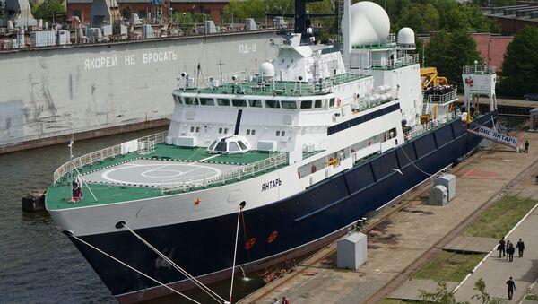 Oceánografická výzkumná loď (OVL) Jantar - Sputnik Česká republika