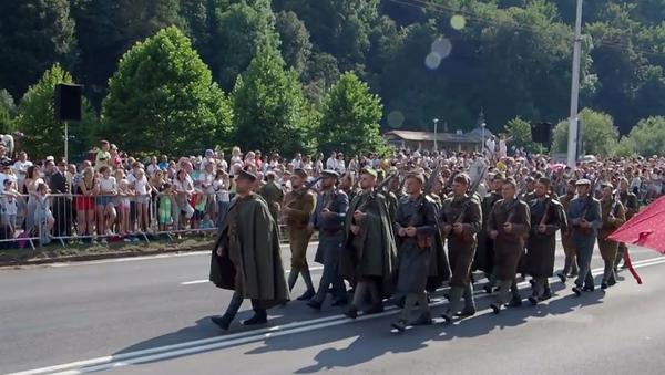 Video: Slovensko oslavilo 75. výročí Slovenského národního povstání (SNP). Jak  to proběhlo? - Sputnik Česká republika