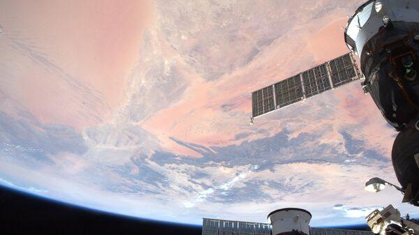 Pohled na Zemi z paluby ISS - Sputnik Česká republika