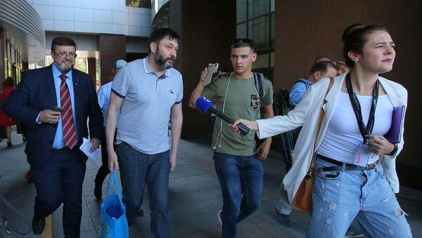 Kirill Vyšinský opouští soud v Kyjevě - Sputnik Česká republika