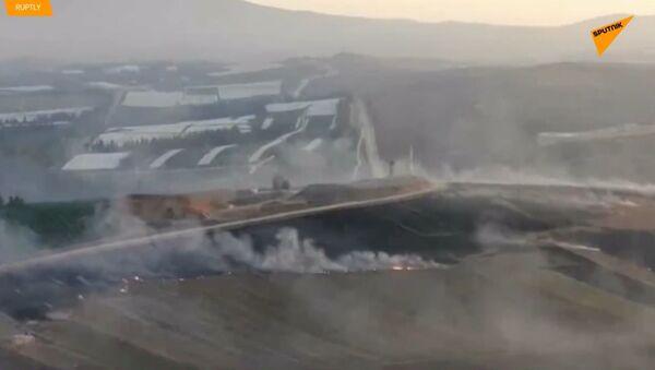 Izrael zasáhl jižní Libanon v reakci na raketový útok Hizballáhu - Sputnik Česká republika