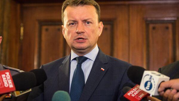 Polský ministr národní obrany Mariusz Blaszczak - Sputnik Česká republika