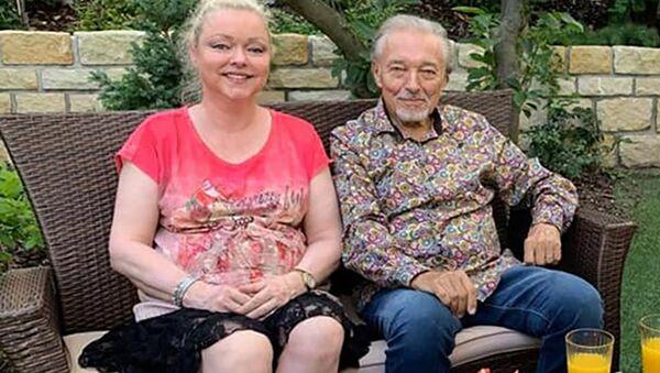 Karel Gott s dcerou Dominikou - Sputnik Česká republika