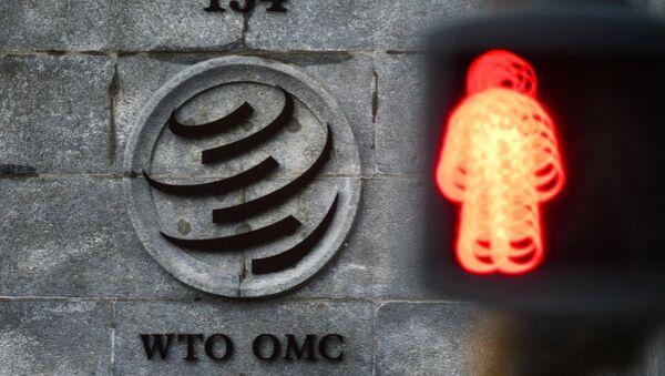 Logo WTO - Sputnik Česká republika