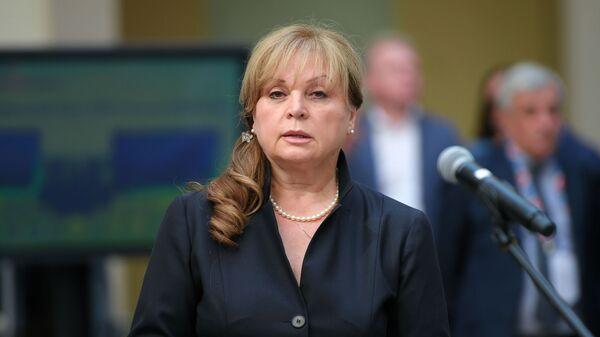 Předsedkyně Ústřední volební komise Ruska Ella Pamfilovová - Sputnik Česká republika