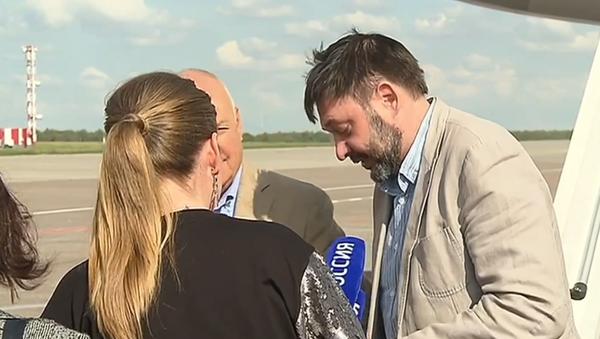 Video: Kirill Vyšinský exkluzivně promluvil o svých pocitech ve vězení a prozradil, co si s sebou vzal do Moskvy    - Sputnik Česká republika