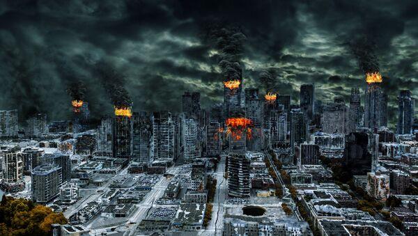 Zničené město po jaderném útoku - Sputnik Česká republika