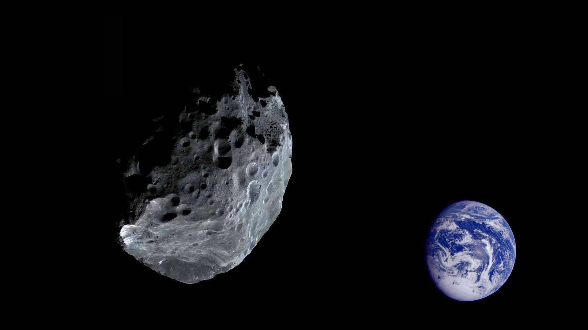Asteroid letící směrem k Zemi - Sputnik Česká republika, 1920, 20.06.2021