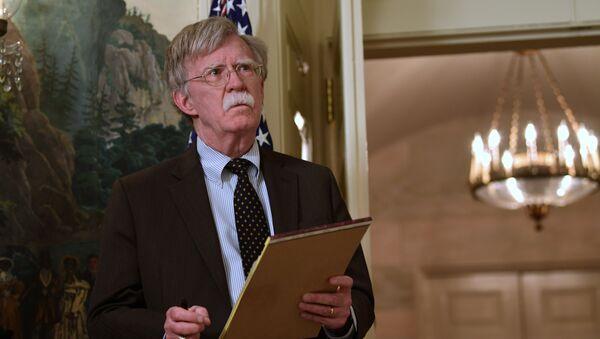 John Bolton - Sputnik Česká republika