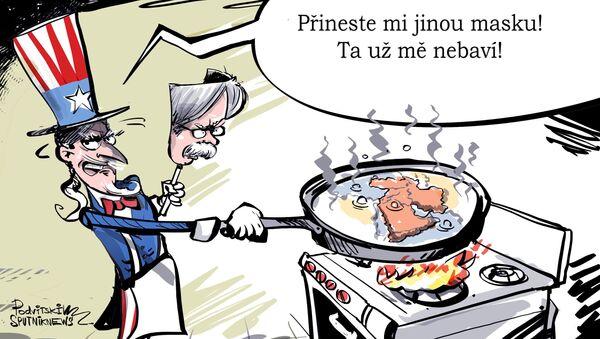 Kuchyň strýčka Sama - Sputnik Česká republika