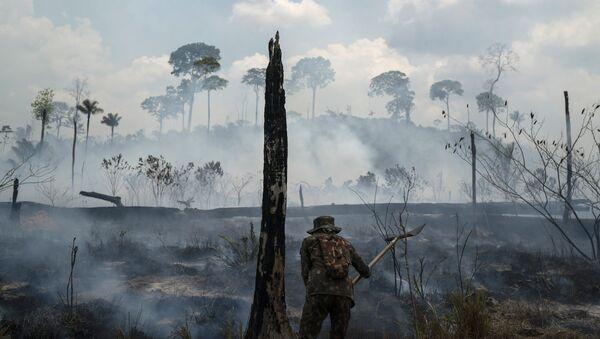 Hašení požárů v Brazílii - Sputnik Česká republika